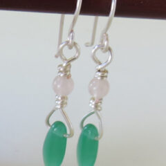 Leaf Drop Earrings