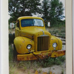 Antique Tow Truck Photograph