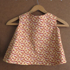 Toddler Size 1 Crab Pinafore