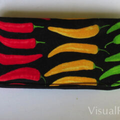 Hot Pepper Eye Glass Case