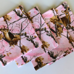 Realtree Luncheon Napkins in Pink with Deer