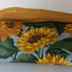 sun flower sun glass case