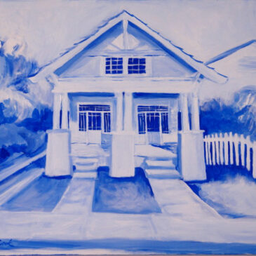 Blue Willow Double Bungalow Home