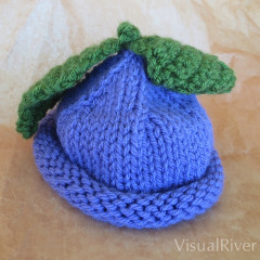 Grape Child's Knit Hat