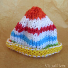 Sunshine Preemie Knit Hat