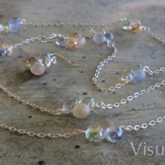 Petal Chain Necklace Set