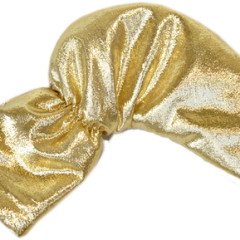 Golden Golf Club Putter Cover