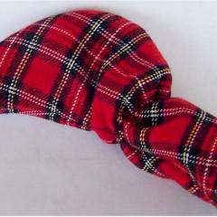 Red Tartan Plaid Putter Head Cover