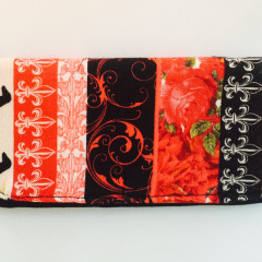 Fleur De Lei and Dachshund Dogs Eyeglass Case