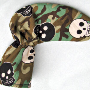 Camo Skull Golf Putter Cover
