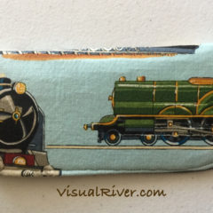 Train Eyeglass Case