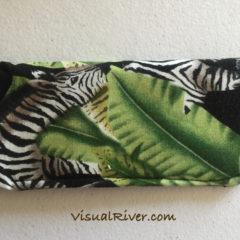 Zebra Eyeglass Case