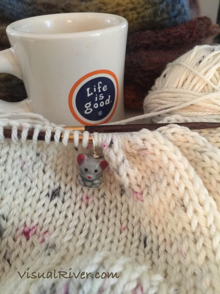 Mouse Knitting Stitch Marker