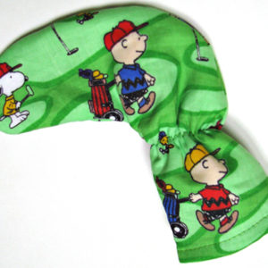 Charlie Brown and Snoopy Putter Cover