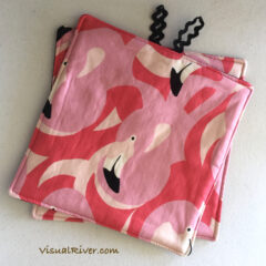 Flamingo Potholders
