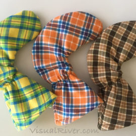 New Tartan Plaid Putter Covers
