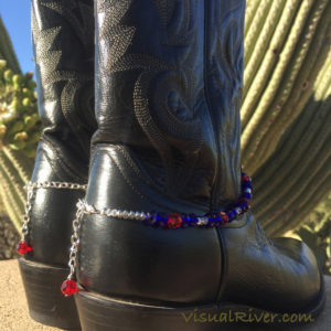 Patriotic Boot Bling by VisualRiver