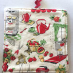 Retro Kitchen Pot Holder